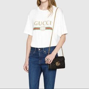 Gucci Bags - Gucci GG Marmont Matelassé Leather Wallet on Chain 09c48aa3908d1